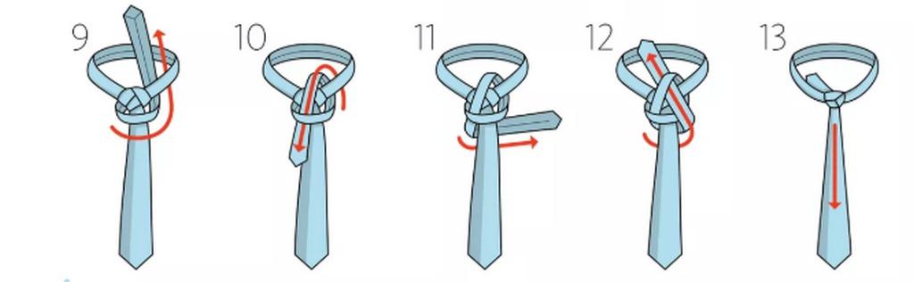 hưỡng dẫn thắt cà vạt
