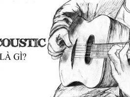 acoustic là gi