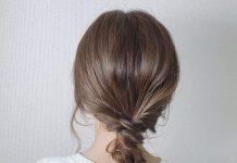 cách tết tóc tiểu thư