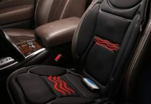 ghế massage trên xe ô tô