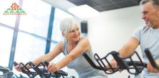 xe đạp tập cho người già