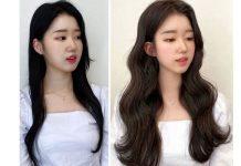 kiểu tóc layer nữ mặt tròn