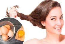 trị rụng tóc bằng trứng gà