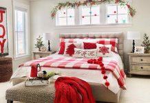 Trang trí phòng ngủ Noel