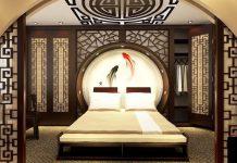 trang trí phòng ngủ cổ trang